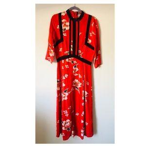 Dresses & Skirts - Midi red dress - US 8 - Tall